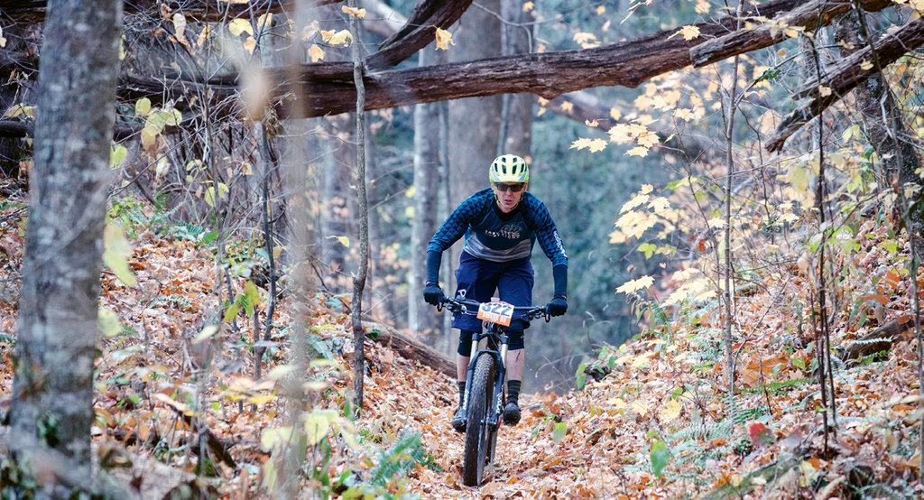 The Swank 65 mountain bike race