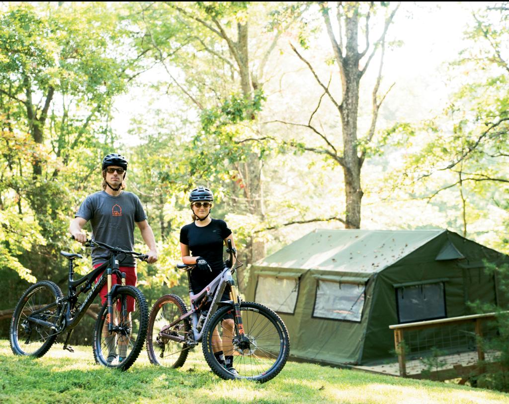 Cashion Smith and Eva Surls  of The Bike Farm