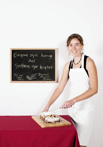 Debbie Tellman of Bracken Mountain Bakery, Brevard