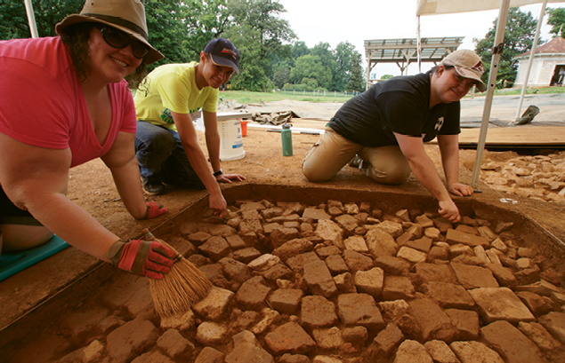 Time Capsule: At Montpelier, the 18th century comes alive with guided tours and archaeological digs.