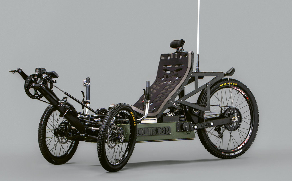 An off-road Outrider Horizon.