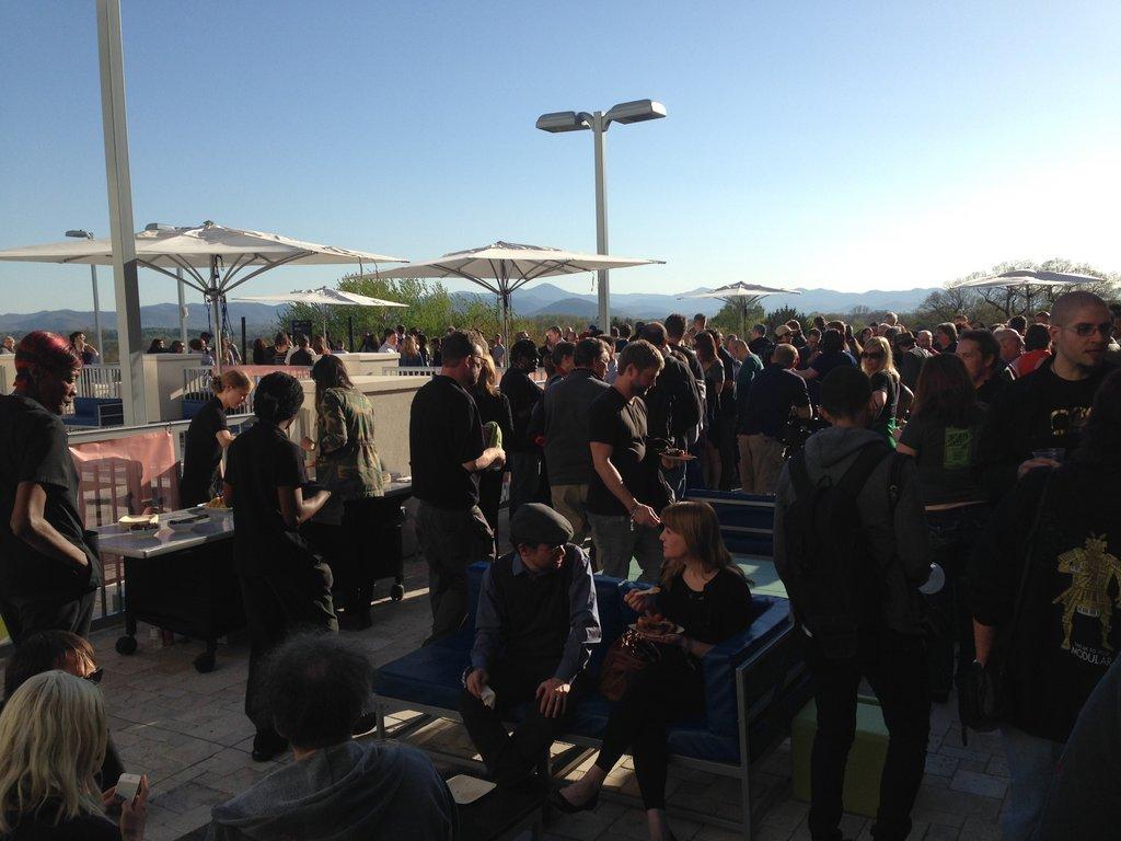 VIP Kick-off party at Aloft