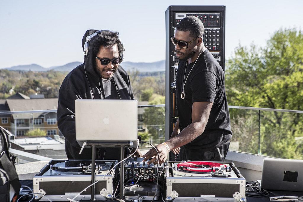 Flying Lotus DJed VIP kick-off party at Aloft