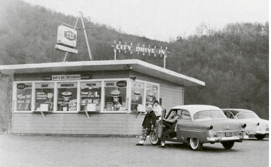 City Drive In has been a place for locals and passersby alike to congregate since 1950.