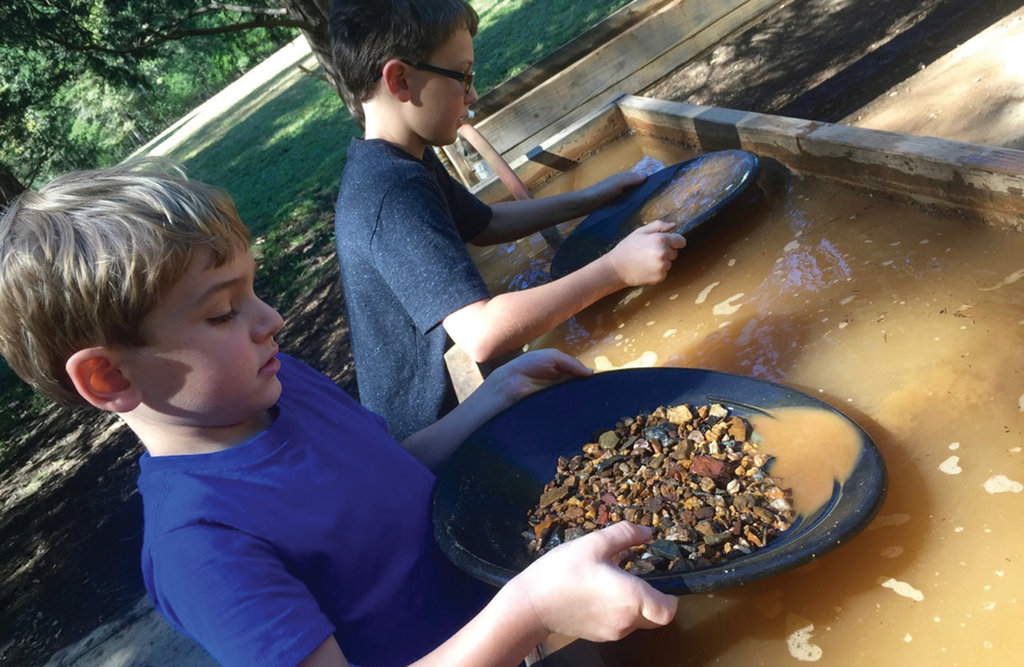 Eureka!: Hundreds of years after it was discovered in North Carolina, you can still pan for gold at numerous sites.