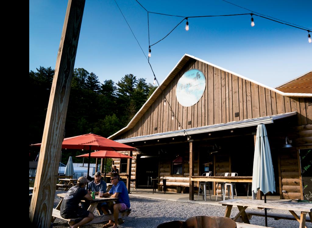 The Hub and Pisgah Tavern