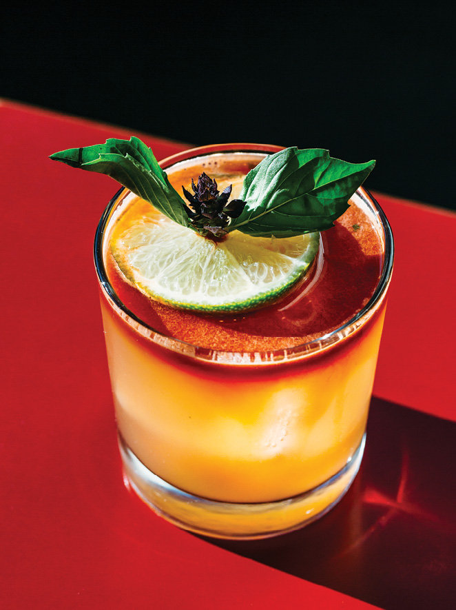 Bright Notes: Among the signature cocktails is the Song Dynasty, a blend of rum, grapefruit, and lime juices with house-made Falernum, a rum liqueur that offers notes of almond, clove, and lime.