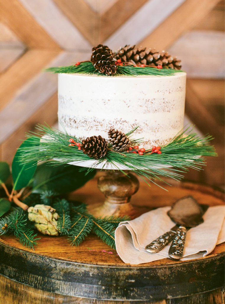 Smart Tip - Instead of desserts  aplenty, consider investing in one showstopper sweet, like this gingerbread cake with honey-mascarpone frosting by 50/Fifty The Art of Dessert.