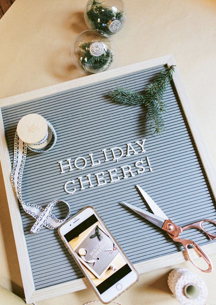 A decorated letterboard is an opportunity to add a welcoming touch or spell out the night's menu.