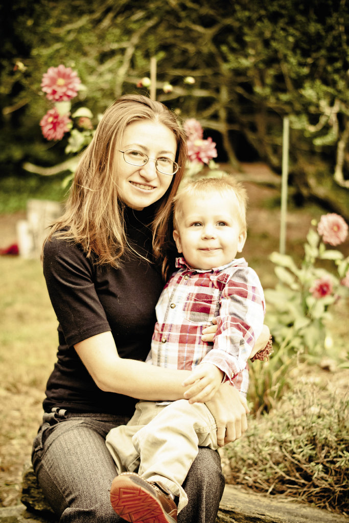 Svitlana Eadie Eadie, who hails from Ukraine, is about to celebrate a decade of living in Asheville, where she's the accounting manager for a land surveying company. Here, she's shown with her son, Alexander.