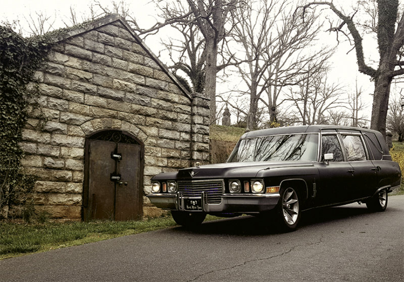 Dark Ride Hearse Tours
