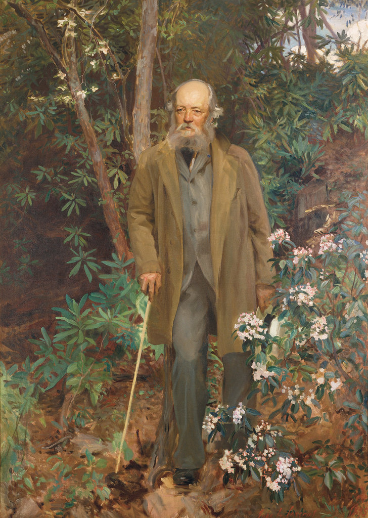 This life-size portrait of Olmsted, painted on-site by John Singer Sargent, can be seen on the second floor of the Biltmore House.