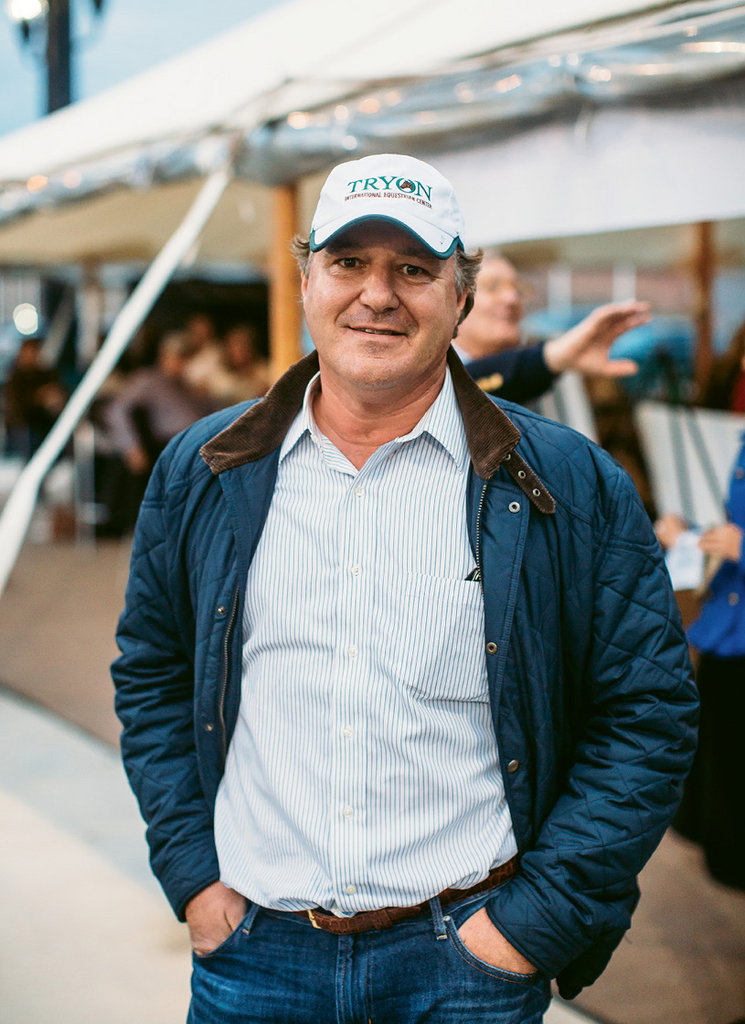 TIEC founder Mark Bellissimo, above, is one of the country's premier equine event promoters.