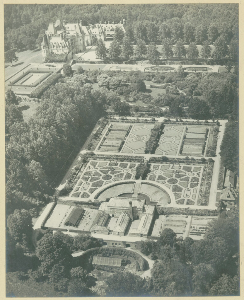 Vanderbilt's visionary: Olmsted designed a mix of formal gardens and naturalistic spaces at the estate.