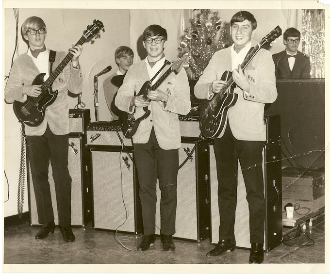 """Bee Bumble and the Stingers, who won Asheville's first Battle of the Bands in 1966. """"The English rock was what we focused on,"""" remembers drummer Steve Stewart. """"It was a sign of the times."""""""
