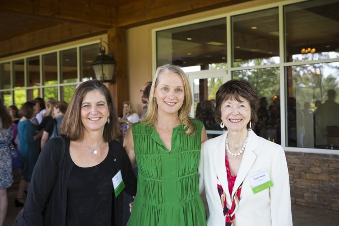 Peggy Partin, Piper Kerman and Emily Partin