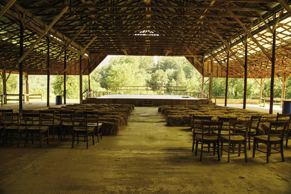 The Festival Barn is the site of many concerts, dances, and celebrations.