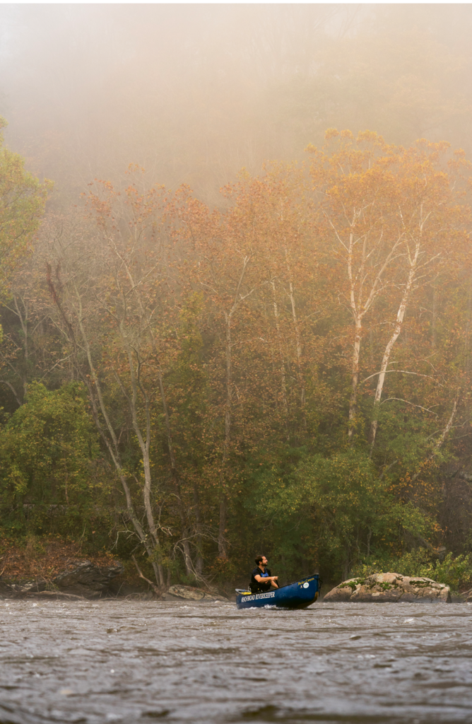 French Broad Riverkeeper Hartwell Carson spearheads efforts to monitor and protect the river's water quality.