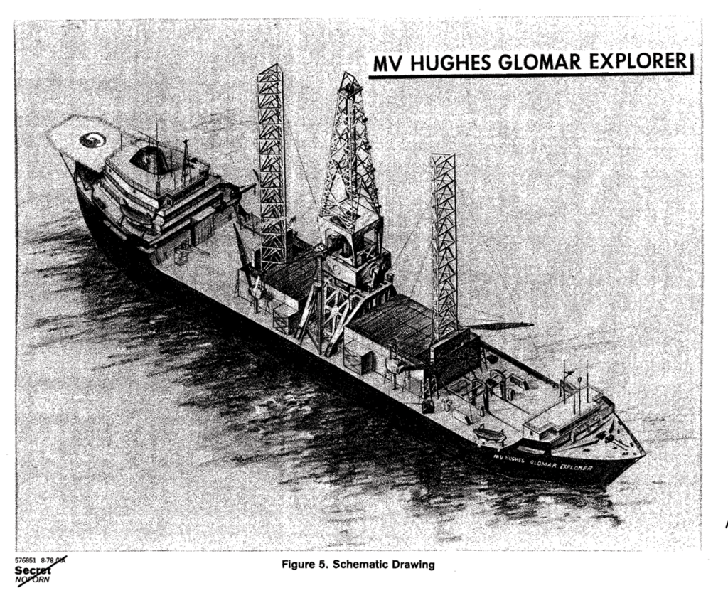 The Glomar Explorer mission, which Duckett oversaw, was an unprecedented and mostly failed attempt to raise a sunken Soviet nuclear submarine from the ocean's depths.