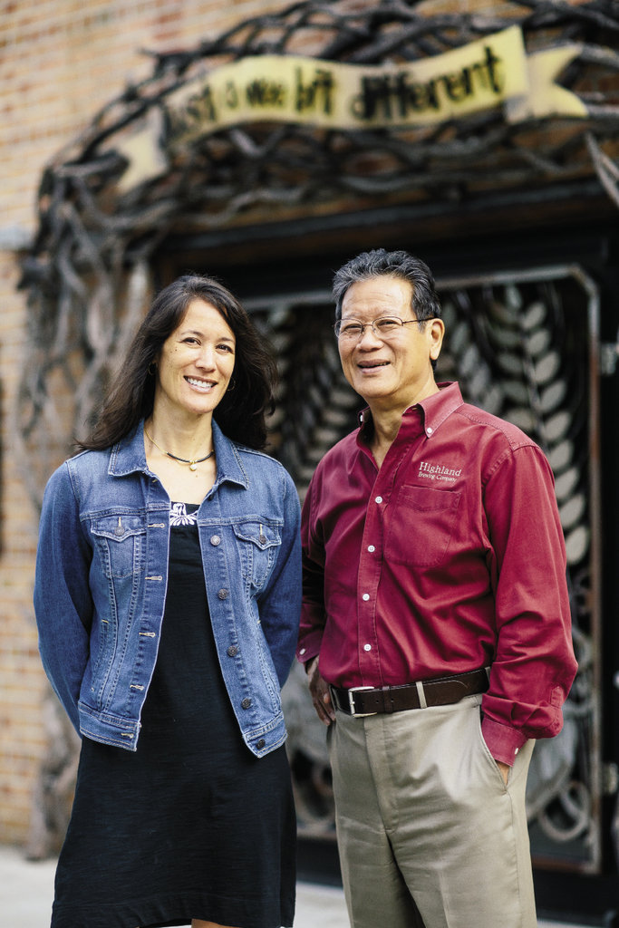 Owner Oscar Wong and his daughter, Leah Wong Ashburn, who serves as the company's vice president