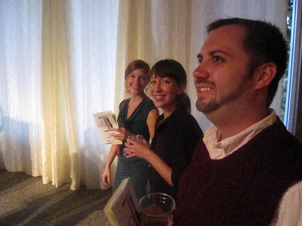 WNC magazine's own Katie Hild, Ayana Dusenberry, and Chris Bubenik