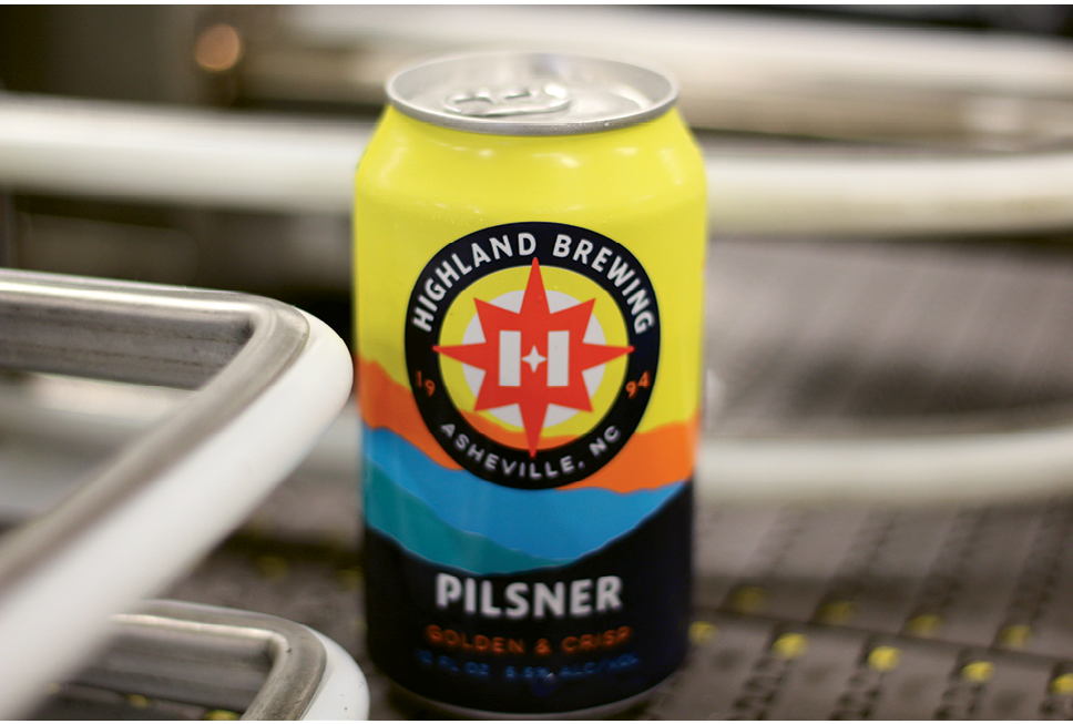 "The company's slogan is changing from ""A Wee Bit Different"": Highland will now tout itself as ""Pioneers in Craft"" and ""Asheville's Original Craft Brewery."