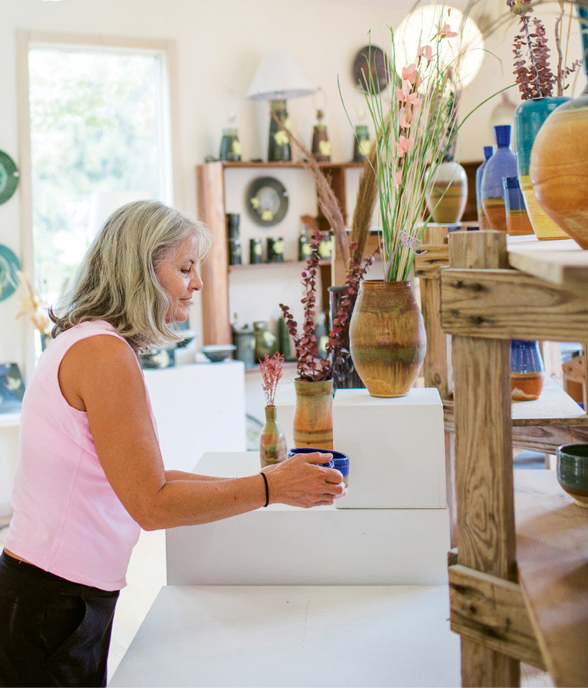 Tree House Pottery offers an array of local and regional  pottery.