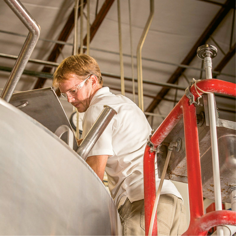 """Wee"" No More - Highland now has some 50 employees, including Jamie Rowe, the company's head brewer."
