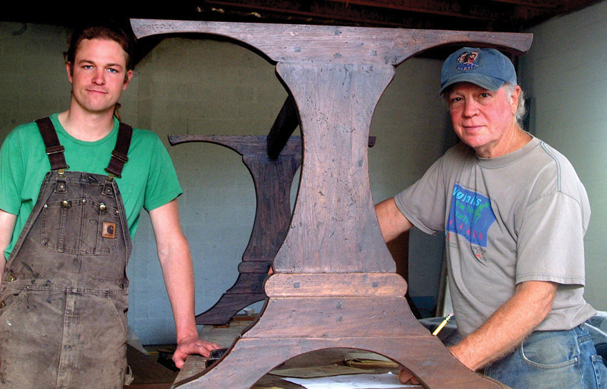 Father and son John and Devin Ulery and their staff build custom pieces
