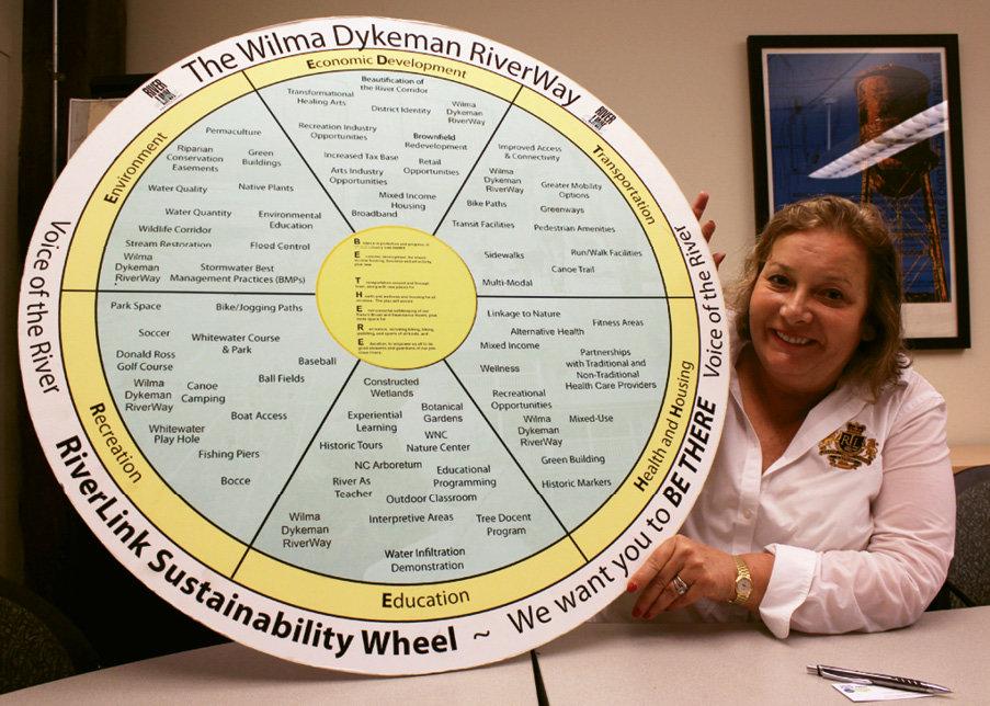 RiverLink's founding director, Karen Cragnolin, helped usher in modern environmental stewardship of the waterway.