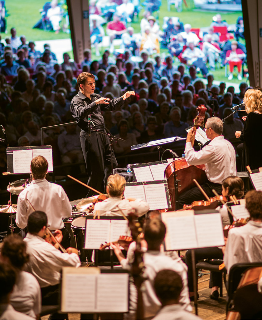 Leading the Way: Lockhart leads the BMC Summer Institute and Festival, which draws more than 400 students from around the world, professional musicians, and more than 40,000 concertgoers.