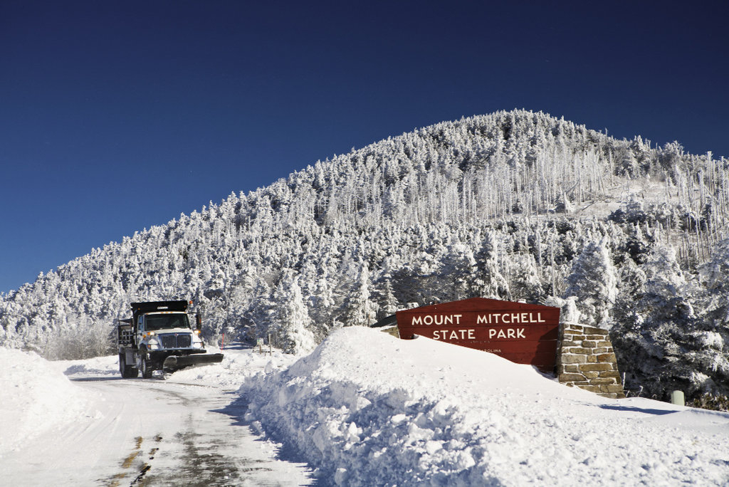 In addition to claiming the East's highest peak, Mount Mitchell was the first state park in North Carolina.