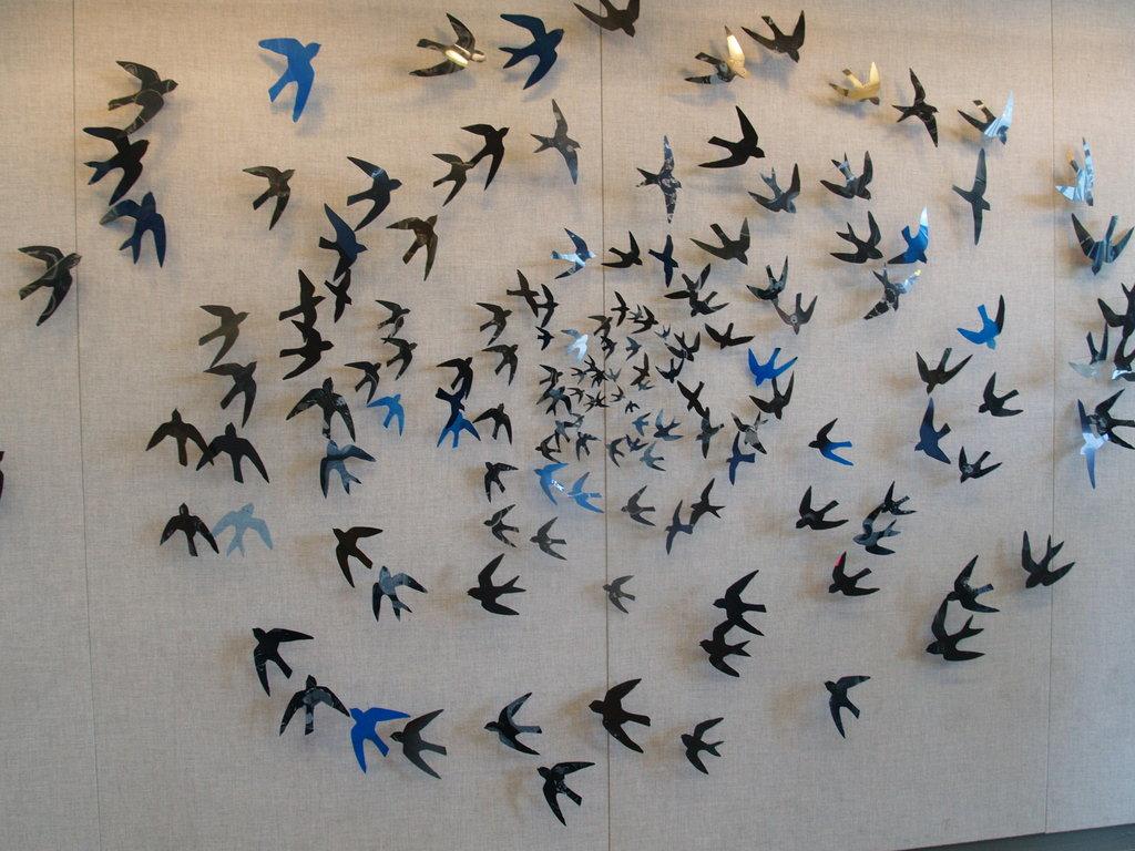 Blue Swirl by Julia M. Barello