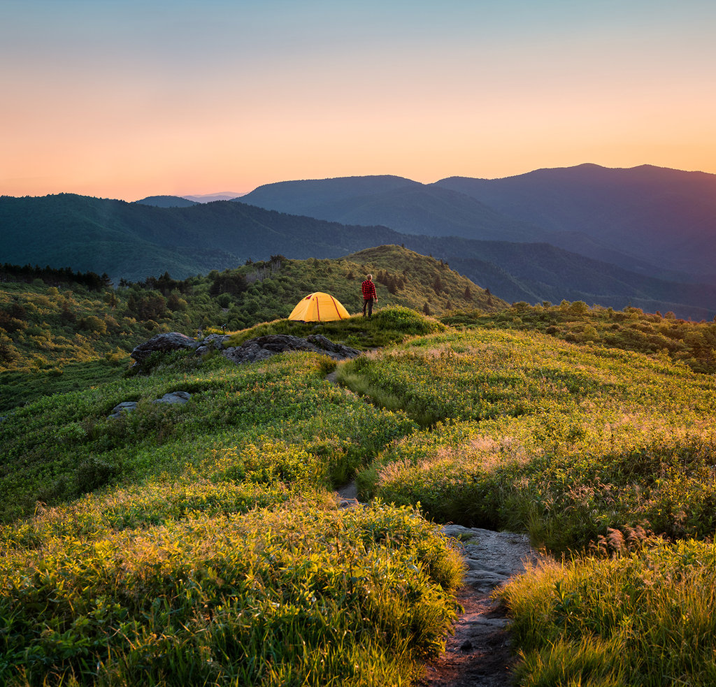 Honorable Mention: On Top of Tennent Mountain by Tom Moors (Professional category)