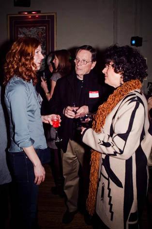 WNC's Director of Advertising Katie Hild, Michelle Alexander, and Bill Lehnert