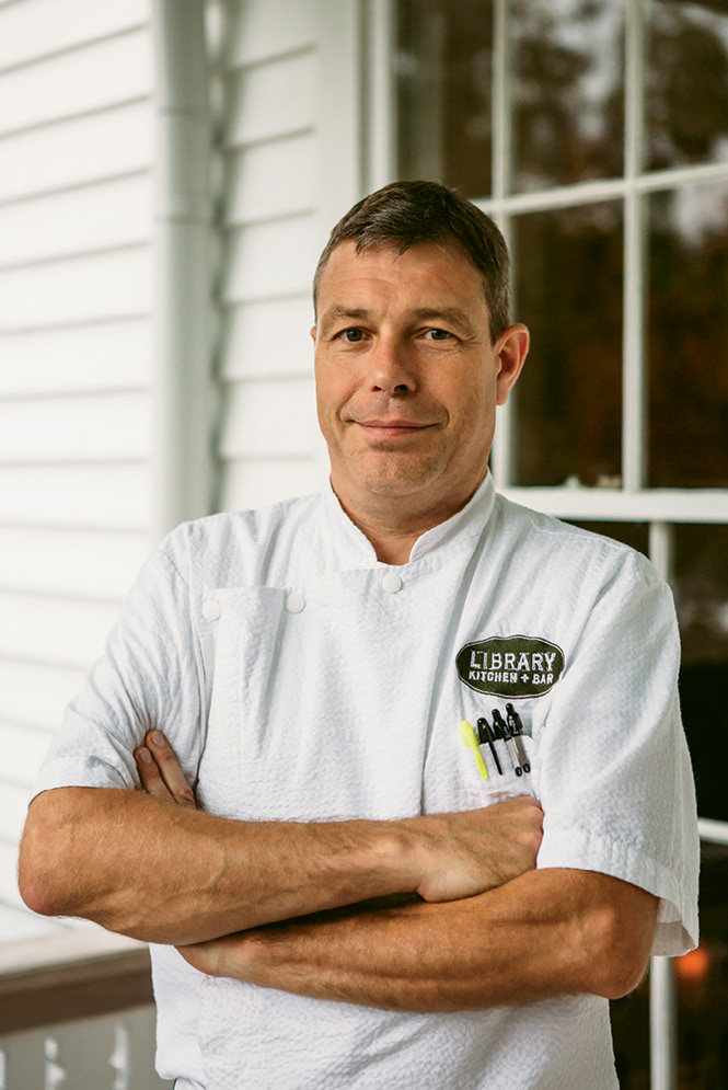 Before opening the Library, Johannes Klapdohr cooked at award-winning restaurants, including Hotel Bareiss in Germany and The Lodge at Sea Island in Georgia.