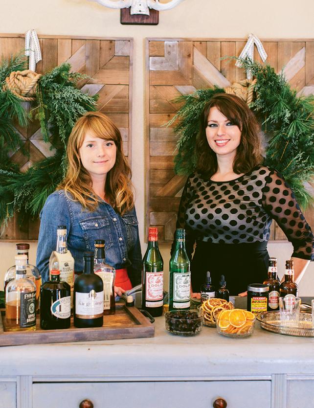 Heidi Perrone and Lexie Harvey of Cordial  & Craft.