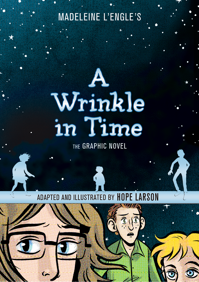 In 2012, Larson won her second Eisner Award, the Oscars of the comic book world, for her adaptation of the literary classic A Wrinkle in Time.