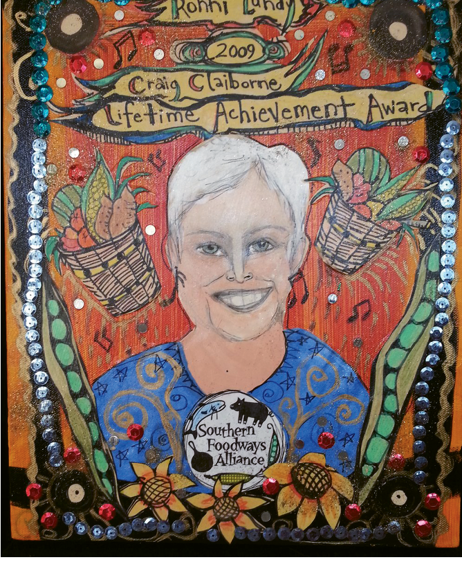 She received a Lifetime Achievement Award in 2009 from the Southern Foodways Alliance.